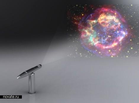 Проектор в шариковой ручке