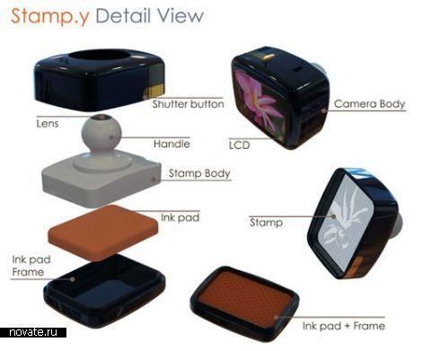 Камера-печать Stampy