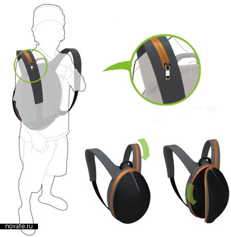Рюкзак zipCure от краж в транспорте