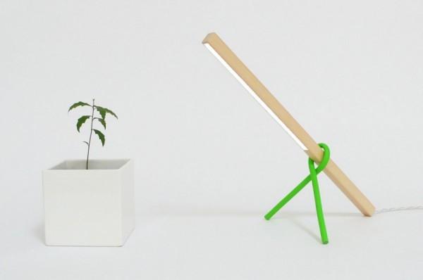 Эко светильник 1×1 LED Desk Lamp от Виктора Веттерлейна (Victor Vetterlein)