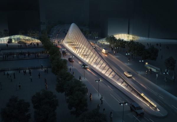 Проект Metropolitan Station 20 – станции метро в Софии (Болгария)