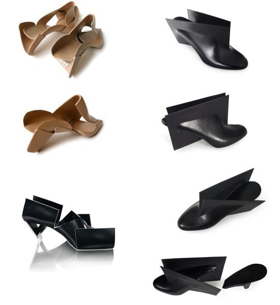 Обувь от голландского дизайнера Марлуса тен Бомера (Marloes ten Bhоmer)