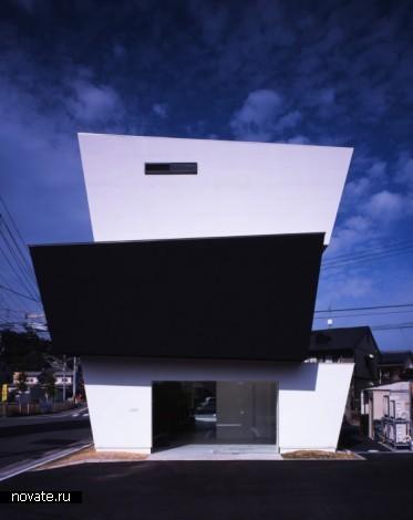 Здание 3 Dan Box от 3 Dan Box от CAPD, Inc в Японии