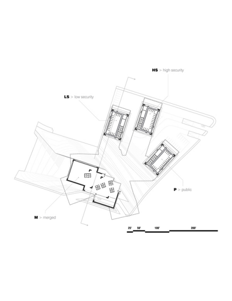499 SUMMIT - проект тюрьмы будущего, расположенной в черте города
