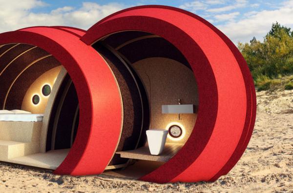 Shelter byGG – современная интерпретация бочки Диогена