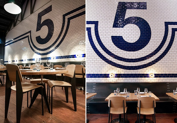 SHED 5 – ресторан в промышленном стиле в Мельбурне Австралия)