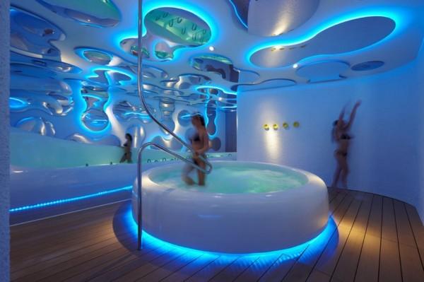 Parco Acque - футуристический оздоровительный центр от Симоне Микели (Simone Micheli)
