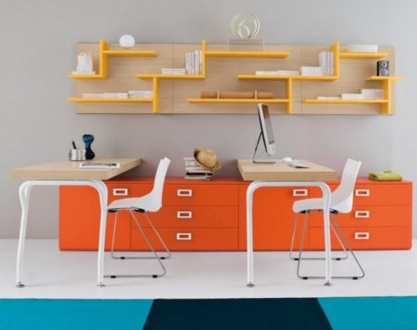 Креативная рабочая зона для современных детских и юношеских комнат от Clever