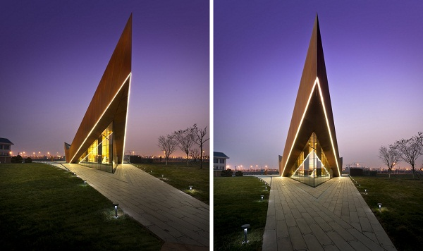 Vanke Triple V Gallery – земное «неземное» здание от Ministry of Design