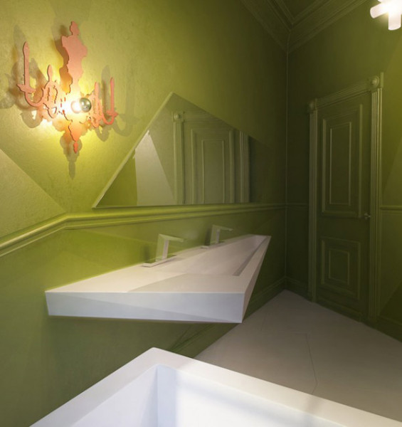 Авангардный интерьер квартиры-студии от киевской студии Sergey Makhno