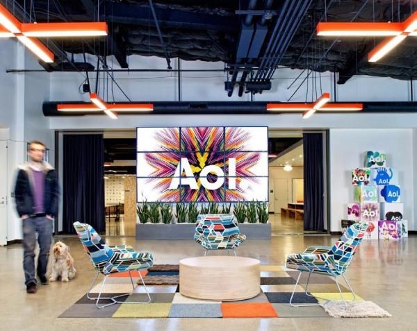 Новая штаб-квартира американской компании AOL