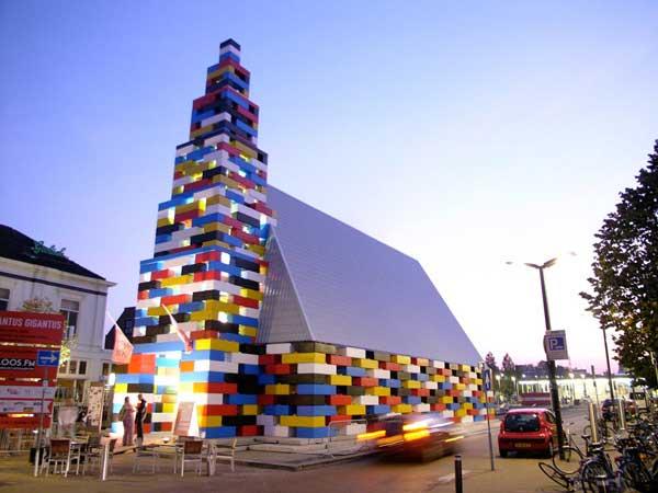 Abondatus Gigantus – временная оболочка, созданная по принципу конструктора Lego