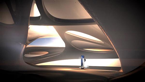 Футуристический проект музея цифровых технологий Adobe Museum of Digital Media