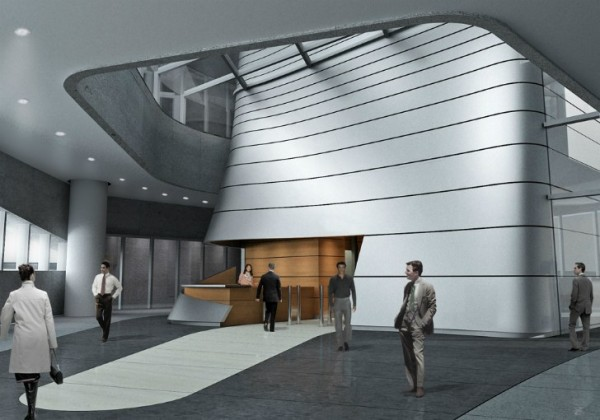 Светоотражающий проект штаб-квартиры компании Lucasfilm от Aedas