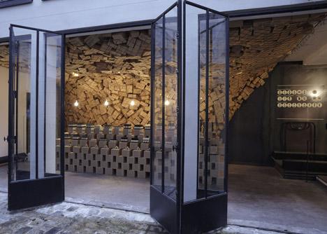 Интерьер парижского бутика Merci от March Studio