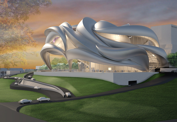 Проект культурного центра Performance Center Alexanderhoehe в Германии