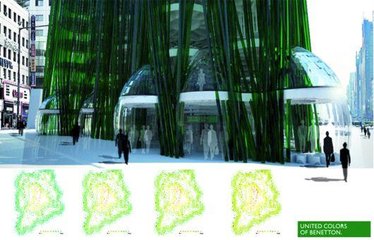 Algae Urban Farm – проектрефлексирующего эко-здания в Иране от ecoLogicStudio