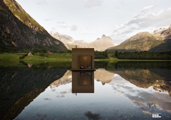 Проект Andalsnes Master Plan от Jagnefalt Milton в Норвегии