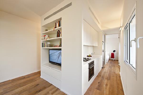 Четырехкомнатная квартира на 40 квадратных метрах