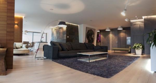 Квартира-галерея от украинских дизайнеров