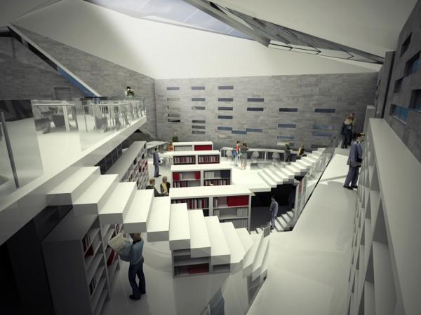 Проект публичной библиотеки от Aquilialberg