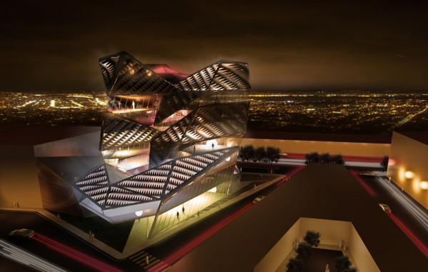 Проект многоцелевого комплекса для Benetton Group Headquarters от AquiliAlberg