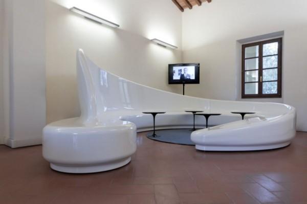 Разноцелевая модульная система Archetto Seating от Sybarite и Marzorati Ronchetti