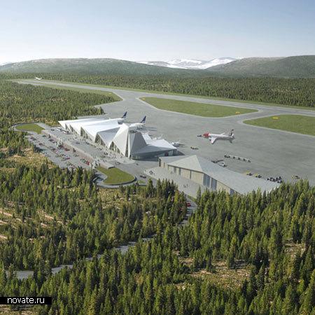 Аэропорт Arctic Circle Airport в Норвегии