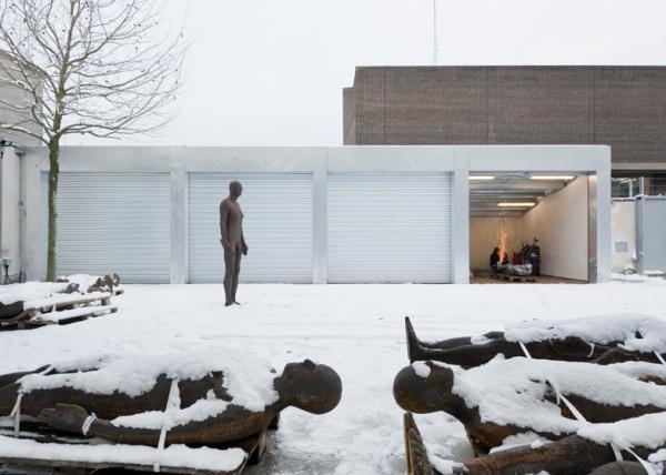 Эпатажная мастерская художника Энтони Гормли (Antony Gormley) от британских архитекторов
