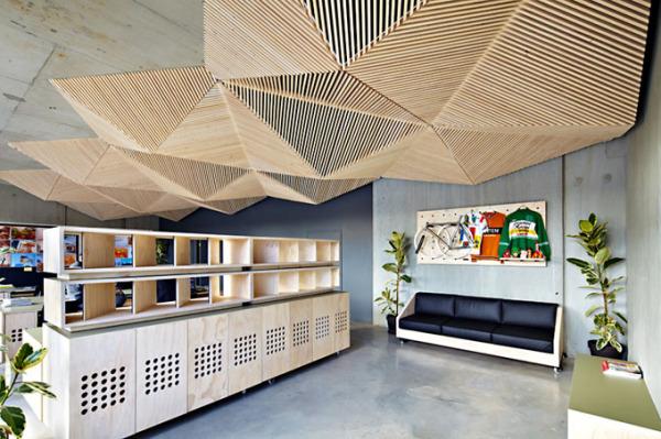 Интерьер офиса Assemble Studio в Мельбурне