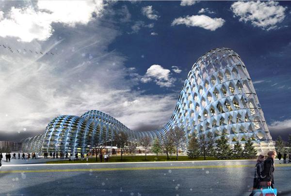 Astana Railway Station Proposal – футуристический вокзал для Казахстана