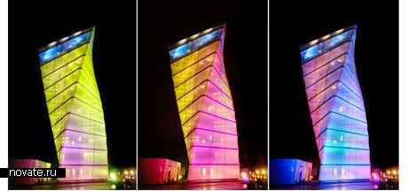 Здание аэропорта в Берлине BBI-Info Tower от Kusus + Kusus Architekten