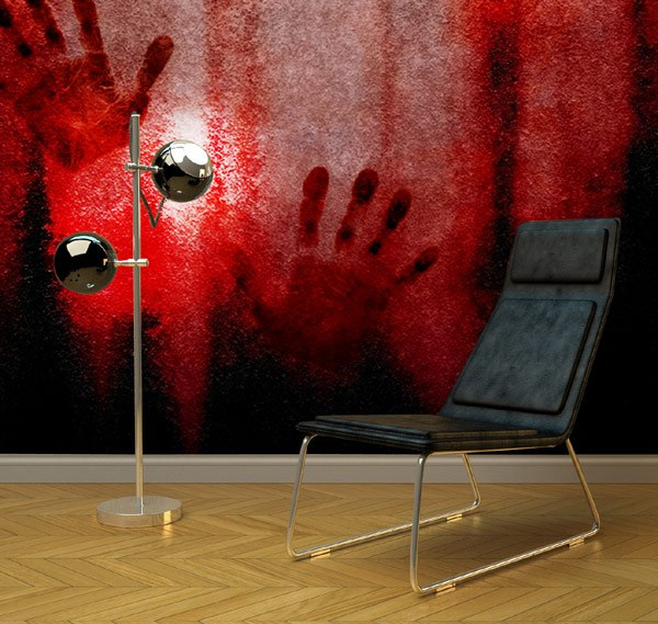 Эпатажная коллекция обоев Bloody Moon Wall Murals