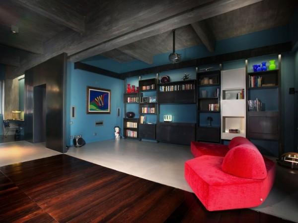 Bachelor Loft - холостяцкая квартира от итальянских архитекторов