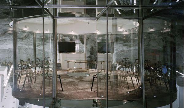 Офис шведского интернет-провайдера Bahnhof в бывшем бомбоубежище от Albert France-Lanord (A)rchitects в Стокгольме