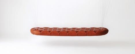 Balloon Bench - летающая скамья от японских дизайнеров