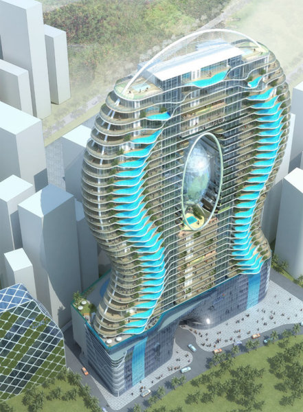 Комплекса bandra ohm residential tower в индии