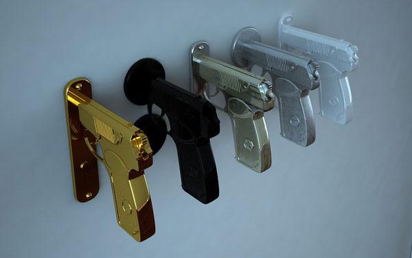 Дверные ручки линии Bang Bang Handle от Никиты Ковалева