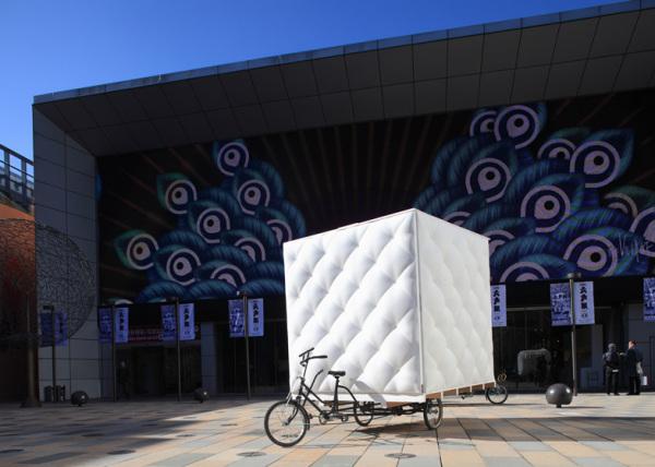 Bao House – «мягкий» дом на колесах от китайских архитекторов