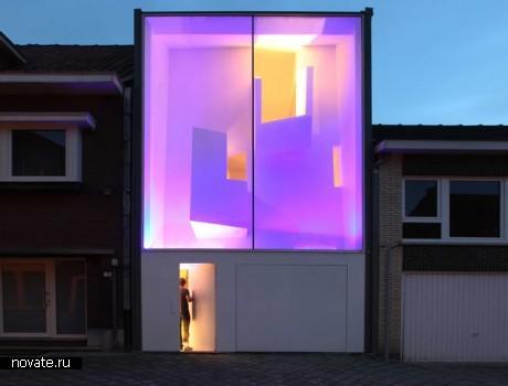 Жилой дом Narrow house от Bassam El Okeily - ARCHITECT в Бельгии