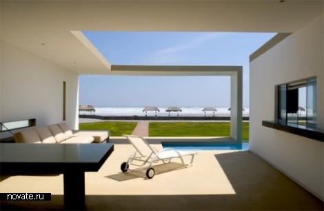 Пляжный домик от  Javier Artadi Arquitecto в Перу