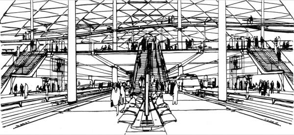 Beijing South Railway Station - проект железнодорожного вокзала от Weston Williamson Architects