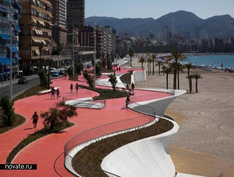 Набережная Benidorm Seafront от OAB в Испании