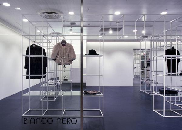Бутик Bianco Nero – идеальное пространство для брендовой одежды