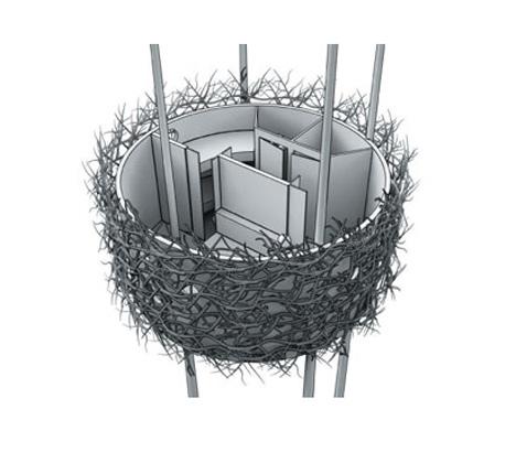 Отельный номер Bird's Nest от Inrednin Gsgruppen