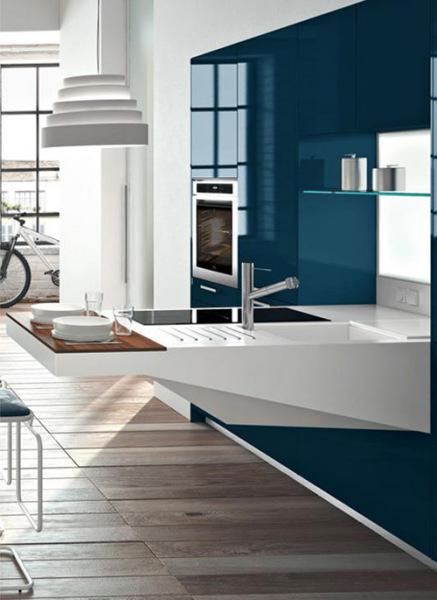 Board – современная компактная кухня от Snaidero
