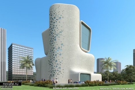 Проект культурного центра Bombay Arts Society от Sanjay Puri Architects