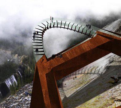 Уникальная смотровая площадка Brewster's Discovery Walkway в Канаде
