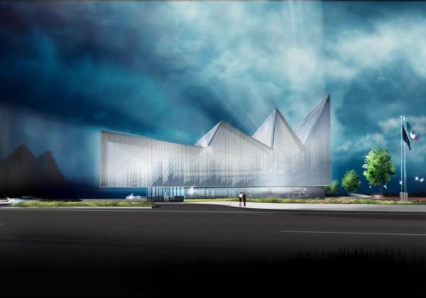 Ультра-современный проект автомобильно-строительного комплекса в Монтерее (Мексика)