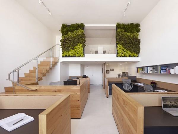 Buck O'Neill Builders Office – стильный офис от Jones ¦ Haydu